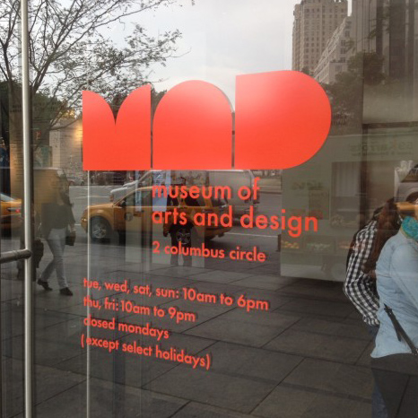 Our work was featured in the OUT OF HAND/HANDS ON interactive space during the Out of Hand: Materializing the Postdigital exhibition at the Museum of Arts and Design (MAD) in NYC